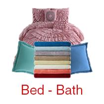 6 Pallets of Bath Towels, Rugs & More, (Lot J0205310), Outlet Quality, 1,742 Units, Est. Retail $34,908, Columbus, OH