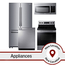 Truckload of Refrigerators, Washers & More by LG, Samsung & GE (APPLIANCE23), FUNCTIONAL MODELS, 27 Units, Est. Retail $22,843, Statesville, NC