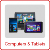 FREE SHIPPING! 1 Box of Laptops & Windows Tablets, (Lot J0402401), B Grade Quality, 7 Units, Est. Retail $2,572, Reno, NV